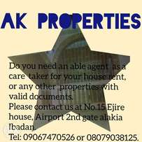 Hire an able and experienced agent for your properties.