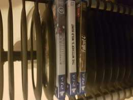 3 brand new PS4 games 2nd hand mint condition