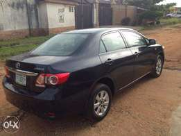 Very Clean Registered Toyota Corolla 2011
