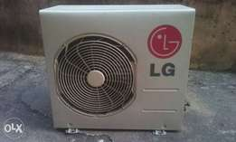 LG 1hp neatly used ac