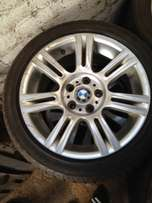 BMW E90 17 inch spare rim and tyre for sale