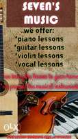 Home Piano And Guitar Lessons