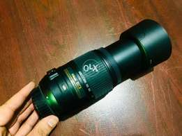 Nikon lens 55-300 automatic with cabs
