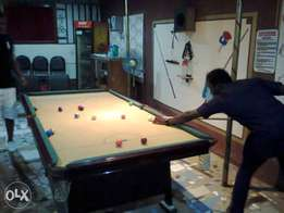 standard S.P.Y 8ft by 4ft snooker board for sale