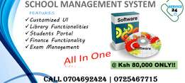 Full Pack School Management System at Ksh 80,000