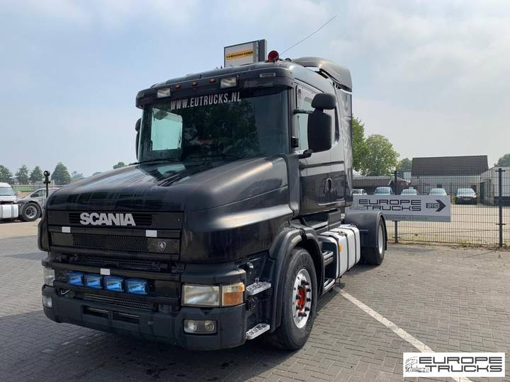 Scania T124 420 Torpedo - Manual - Retarder - Airco - 2001