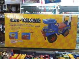 4wd tolocar for kids music and horn