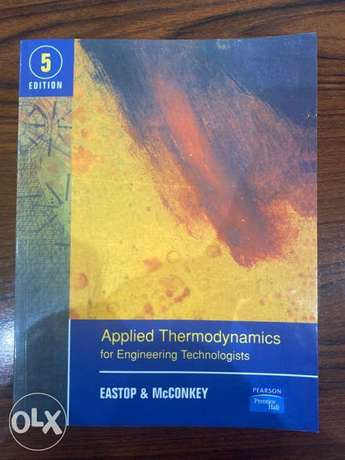 applied thermodynamics for engineering technologists.