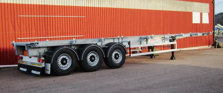 Frühauf 34 Ton 20' Mitt + 30 Mitt 40 Containerchassi 40' C - 2018