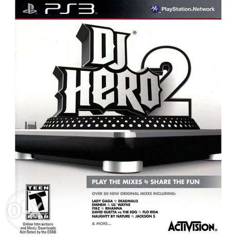 DJ Hero 2 - Turntable & Game CD - Playstation 3