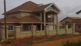 An Executive 7 bedroom uncompleted house for sale at Ahenema Kokoben