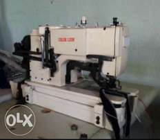 Button hole machine for sale