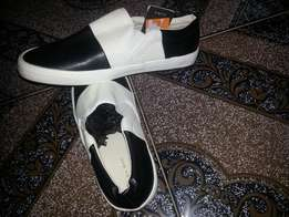 Original zara man pure foot leather size 42