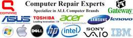 Desktop,Laptop Repair,Networking at Your Door Step