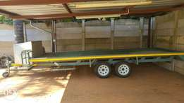 Dual axis Quad trailer for sale