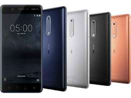 Brand new Nokia 5 sealed with warranty, Free delivery