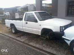 Mitsubishi colt Bakkie body with papees