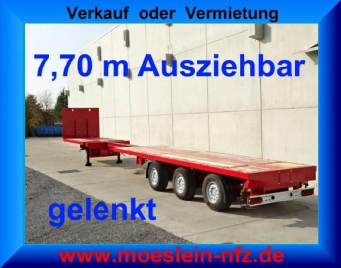 Doll P3H 3 Achs Tele Auflieger ausziehbar 21,30 m gel - 2005