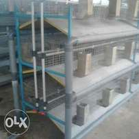 9 capacity Rabbit cages manufacturers