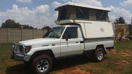 Used Toyota Land Cruiser 4.5 EFI with Recco Canopy for sale