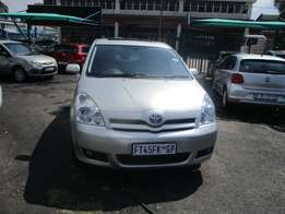 Toyota verso 2007 Model,5 Doors factory A/C And C/D Player