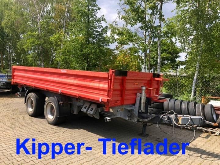 Möslein TTD 19 Schwebheim 19 t Tandemkipper- Tieflader - 2015