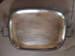 Silver Plated Tray J 2385