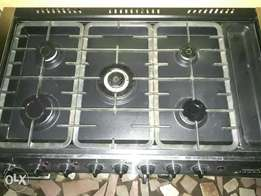 Premium 5 burner gas Cooker with oven & grill