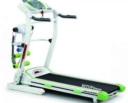 Bodyfit 2HP Treadmill with massager and twister 120k user weight NEW
