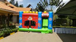Bouncing castle, trampoline, waterslide,puppet show or hire.