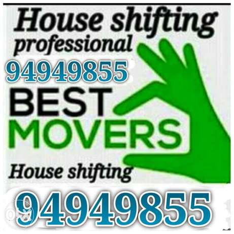 Professional Movers House shifting