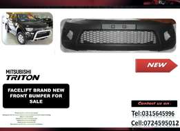 Mitsubishi Triton Facelift Brand New Front bumpers for sale R1750