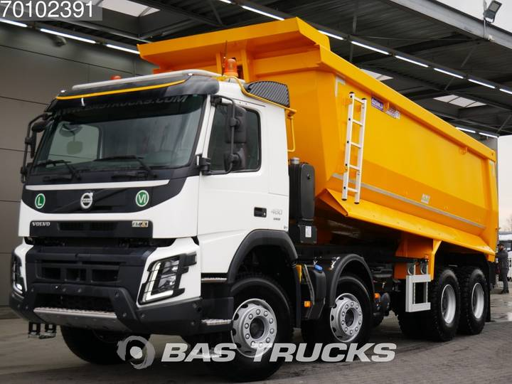 Volvo FMX 460 BE Registration 8X4 25m3 VEB+ Big-Axle Steelsuspe... - 2019