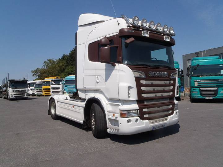 Scania R500 Highline (manual, Retarder) - 2012