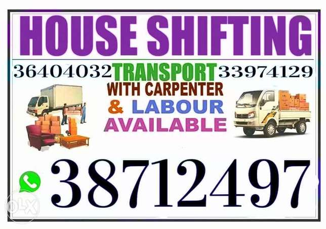 Stress free mover shifting house hold items