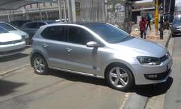 Vw polo 6 silver in color 1.6 confort line 2014 model 47000km R165000
