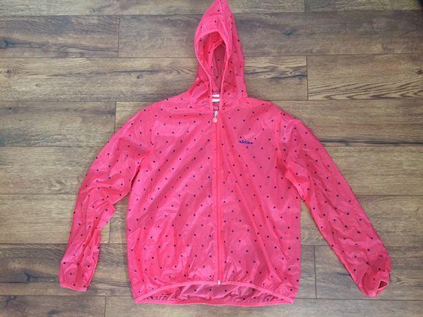 Adidas neo kurtka wiatrówka różowa ultralekka LXL Starogard