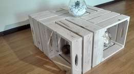 Pallet Crate Coffee Table