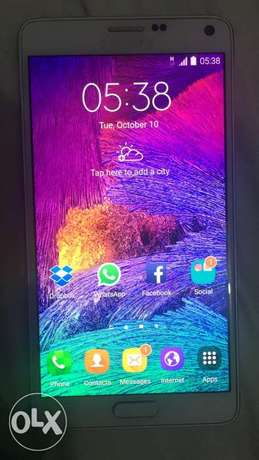 Samsung galaxy note 4 for sale Kinondoni - image 1