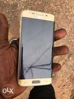 Slightly Used s6 edge 32GB Gold Color from UK