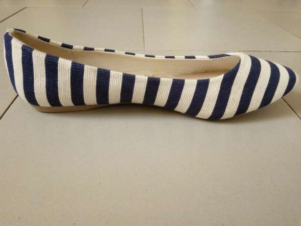 Striped Suede Tass Shoes Kosofe - image 2