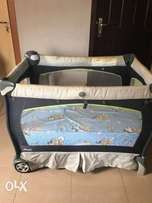Neatly Used Chicco Lullably Pack n Play( baby cot )