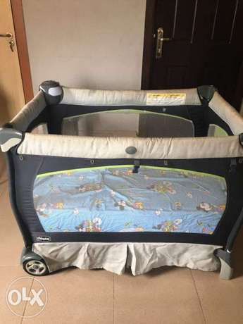 Neatly Used Chicco Lullably Pack n Play( baby cot ) Lekki - image 1