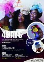 Learn and Earn..4 days fascinator and hatinator programme