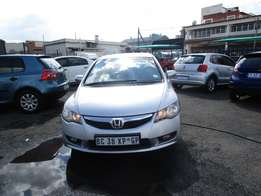 2011 Honda Civic ,silver in color , 4 doors , 95 000 km ,R95 000Neg