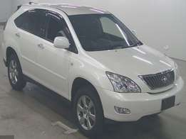 Foreign Used Toyota Harrier For sale White Asking Price 3,250,000/=