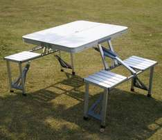 Picnic Tables .(Outings and Indoors).Aliminium