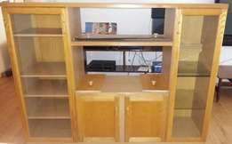 Wall unit n Tv Stand.