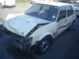 Toyota Conquest 1.3 1988 model breaking for parts!