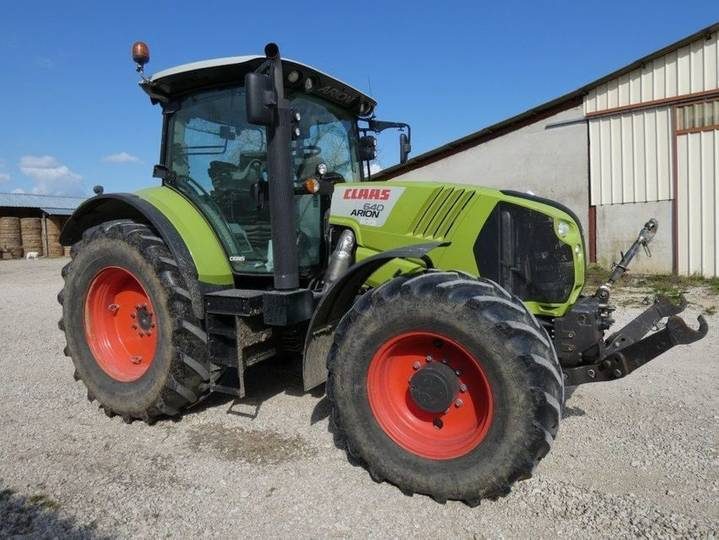 Claas arion 640 cebis - 2013